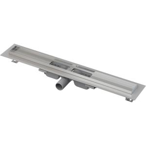 Alcaplast APZ101-1050-LOW podlahový žlab výška 55mm SNÍŽENÝ kout min. 1100mm (APZ101-1050)