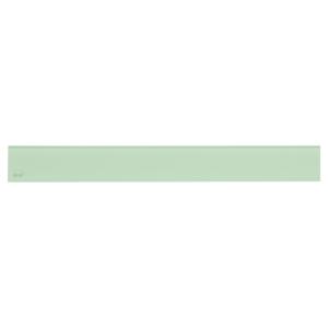 Alcaplast GLASS Rošt pro liniový podlahový žlab sklo zelené (GL1202-1150)