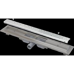 Alcaplast Podlahový žlab Antivandal s roštem (APZ111-650M)