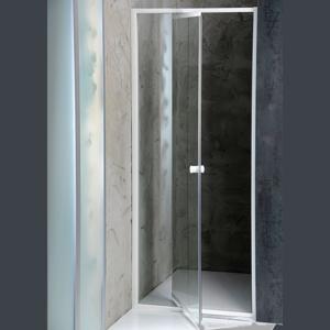 AQUALINE - AMICO sprchové dvere výklopné 740-820x1850 mm, číre sklo (G70)