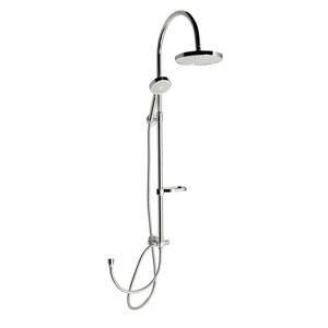 AQUALINE - AROMI sprchový stĺp, v.850-1300mm, chrom (SL425)