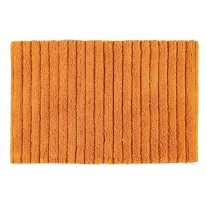 AQUALINE - BOMBAY Kúpeľňová predložka, 50x80 cm, 100% bavlna, protišmyk, oranžova (BO508067)
