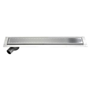 AQUALINE - KROKUS nerezový sprchový kanálik s roštom, 960x140x92 mm (2705-10)