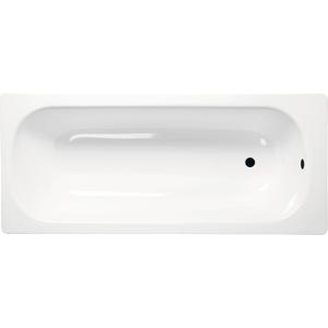 AQUALINE - Obdĺžniková smaltovaná vaňa 150x70x38cm, biela (V150x70)