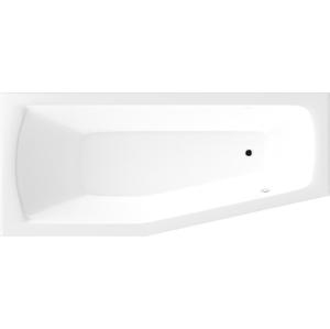AQUALINE - OPAVA vaňa 160x70x39cm bez nožičiek, ľavá, biela (C1670)