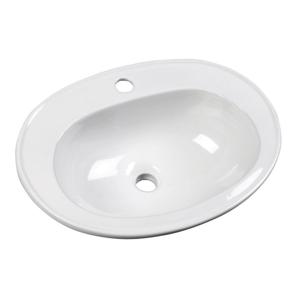 AQUALINE - SARA keramické umývadlo 54x41, zápustné (FS1630)