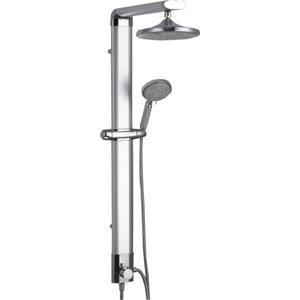 AQUALINE - TOUR sprchový stĺp, v. 1100mm, hliník (SL030)