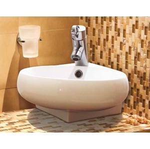 Aquatek Aquatek - GOOT keramické umyvadlo 39,5x37x13,5 cm (GOOT)