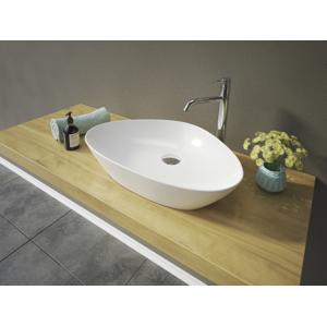 Aquatek Aquatek - LEON keramické umyvadlo na desku 59,5x40x12,5 cm (LEON)
