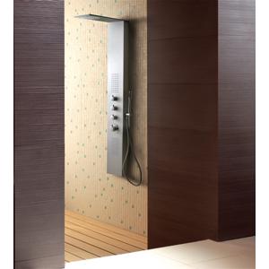 Aquatek - Dubai Hydromasážní sprchový panel , baterie mechanická, způsob montáže na zeď (Dubai-246)