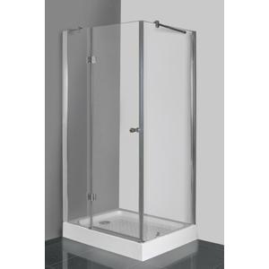 Aquatek - EXTRA R13 CHROM Sprchový kout, sklo 8mm, 100x80x195cm, výplň sklo - frost (EXTRAR13-21)