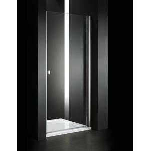 Aquatek - Glass B1 65 sprchové dveře do niky jednokřídlé 61-65cm, barva rámu bílá, výplň sklo - čiré (GLASSB165-166)