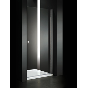 Aquatek - Glass B1 65 sprchové dveře do niky jednokřídlé 61-65cm, barva rámu chrom, výplň sklo - čiré (GLASSB165-176)