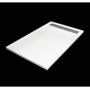 Aquatek - LEVEL 120x80 sprchová vanička z litého mramoru obdélníková (LEVEL12080)