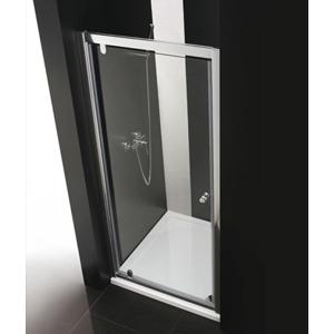 Aquatek - Master B1 100 sprchové dveře do niky jednokřídlé 96-100 cm, barva rámu chrom, výplň sklo - matné (B1100-177)