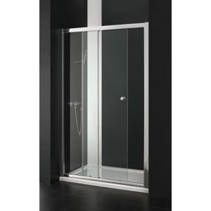 Aquatek - Master B2 sprchové dveře do niky zasouvací 136-140 cm, výplň sklo - čiré (B2140-06)
