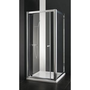 Aquatek - MASTER F1 70 Pevná boční stěna ke sprchovým dveřím , barva rámu bílá, výplň sklo - matné (MASTER F170-167)