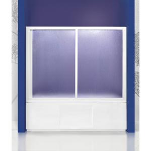Aquatek - Vanová zástěna ROYAL V2 151-160cm, výplň Krilex (ROYALV2160)