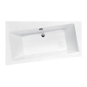 Asymetrická vana Hopa ASTI - 1600 x 1000 mm, objem 200 l, Levé, čelní + boční panel (VANAST16L+VANASTCP16+VANNOZ)