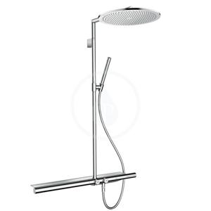 AXOR - ShowerSolutions Sprchová súprava Showerpipe 800 s termostatom na stenu, chróm (27984000)