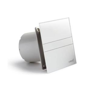 CATA - E-100 GT kúpeľňový ventilátor axiálny s časovačom, 8W, potrubie 100mm, biela (00900100)