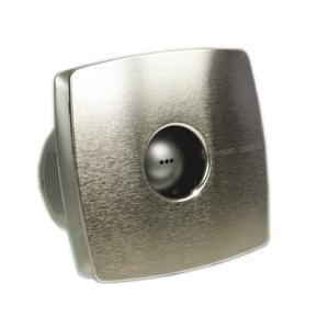 CATA - X-MART 10T kúpeľňový ventilátor axiálny s časovačom, 15W, potrubie 100mm, nerez (01041000)