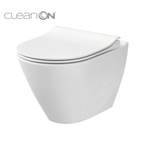 CERSANIT - WC MISA CITY OVAL NEW CLEANON (K35-025)