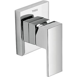 CUADRO - TRES Vstavaná jednopáková sprchová batéria (jednocestná), podomietkové teleso (106177)