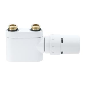 """DANFOSS VHX-Duo bílý přímý 1/2"""" s hlavicí RTX (rozteč 50mm) 013G4378 (013G4378)"""