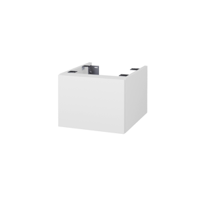 Dřevojas - Doplňková skříňka pod desku DSD SZZ1 40. bez výřezu (výška 30 cm) - D14 Basalt / D14 Basalt (223168)