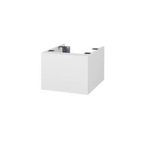 Dřevojas - Doplňková skříňka pod desku DSD SZZ1 40. bez výřezu (výška 30 cm) - N01 Bílá lesk / IND Individual (223359)