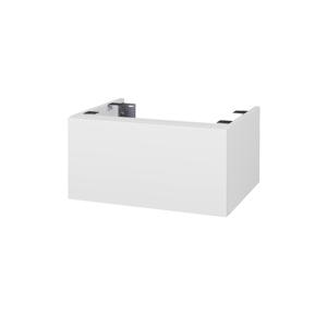 Dřevojas - Doplňková skříňka pod desku DSD SZZ1 60. bez výřezu (výška 30 cm) - N01 Bílá lesk / D02 Bříza (225575)