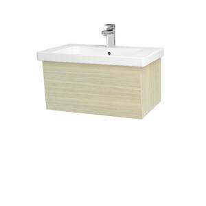 Dřevojas Dřevojas - Koupelnová skříň INVENCE SZZ 65 (umyvadlo Harmonia) - D04 Dub / D04 Dub (176099)