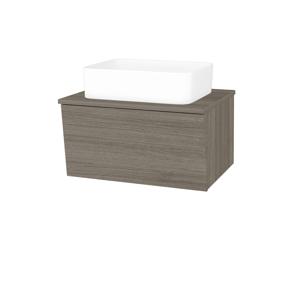 Dřevojas Dřevojas - Koupelnová skříň INVENCE SZZ 65 (umyvadlo Joy) - D03 Cafe / D03 Cafe (176662)