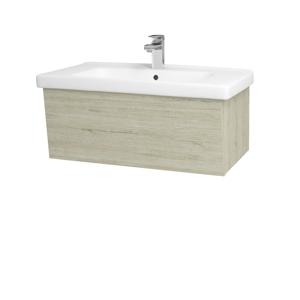 Dřevojas Dřevojas - Koupelnová skříň INVENCE SZZ 80 (umyvadlo Harmonia) - D05 Oregon / D05 Oregon (178789)