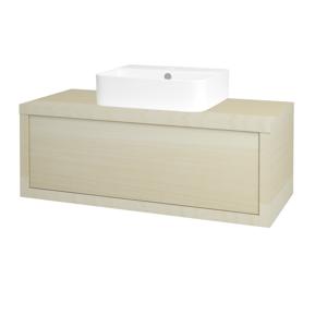 Dřevojas Dřevojas - Koupelnová skříň STORM SZZ 100 (umyvadlo Joy 3) - D02 Bříza / D02 Bříza (217938)
