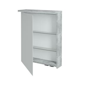 Dřevojas - Jednodvéřová galerka ASTON GAOE 60 - M01 Bílá mat / Pravé (240981P)