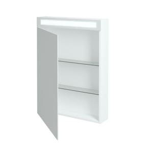 Dřevojas - Jednodvéřová galerka MAX GAO 60 - N01 Bílá lesk / Levé (69127)