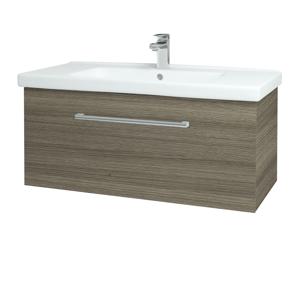 Dřevojas - Koupelnová skříň BIG INN SZZ 100 - D03 Cafe / Úchytka T03 / D03 Cafe (132705C)