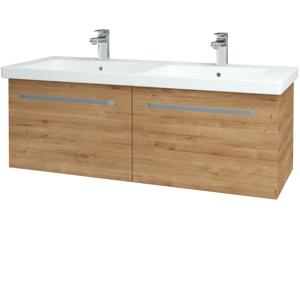 Dřevojas - Koupelnová skříň BIG INN SZZ2 125 - D09 Arlington / Úchytka T01 / D09 Arlington (149802A)