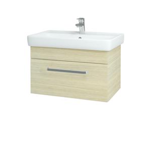 Dřevojas - Koupelnová skříň Q UNO SZZ 70 - D04 Dub / Úchytka T01 / D04 Dub (28414A)