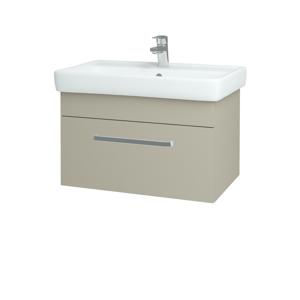 Dřevojas - Koupelnová skříň Q UNO SZZ 70 - L04 Béžová vysoký lesk / Úchytka T01 / L04 Béžová vysoký lesk (150792A)