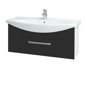 Dřevojas - Koupelnová skříň TAKE IT SZZ 105 - N01 Bílá lesk / Úchytka T01 / N03 Graphite (207205A)