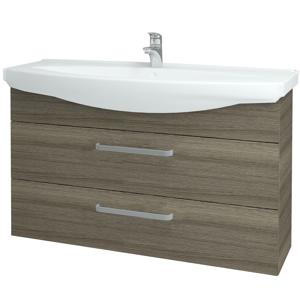 Dřevojas - Koupelnová skříň TAKE IT SZZ2 120 - D03 Cafe / Úchytka T01 / D03 Cafe (134334A)