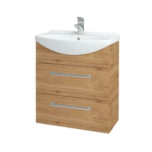 Dřevojas - Koupelnová skříň TAKE IT SZZ2 65 - D09 Arlington / Úchytka T03 / D09 Arlington (151331C)