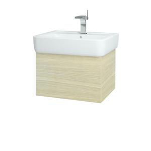 Dřevojas - Koupelnová skříň VARIANTE SZZ 60 - D04 Dub / D04 Dub (165390)