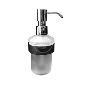 DURAVIT - D-Code Dávkovač mydla s držiakom, sklo/chróm (0099161000)
