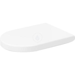 DURAVIT - Darling New WC sedátko se sklápění SoftClose, alpská bílá (0063390000)