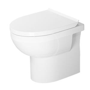 DURAVIT - DuraStyle Basic Stojící WC se sedátkem SoftClose, zadní odpad, Rimless, alpská bílá (41840900A1)