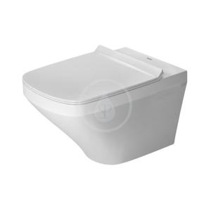 DURAVIT - DuraStyle Závěsné WC, sedátko SoftClose, Rimless, alpská bílá (45510900A1)